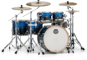 Mapex Armory Drums in Photon Blue Finish